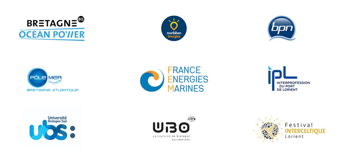 Logo des acteurs locaux rencontrés par Qair en Bretagne